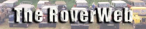 RoverWeb Land Rover Banner